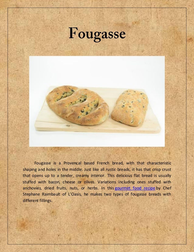Fougasse is a Provencal based French bread, with that characteristicshaping and holes in the middle. Just like all rustic ...