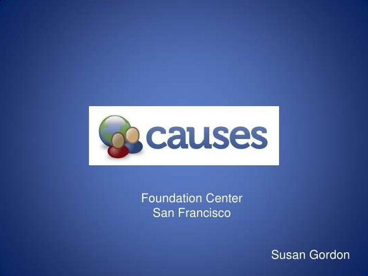 Foundation center Presentation