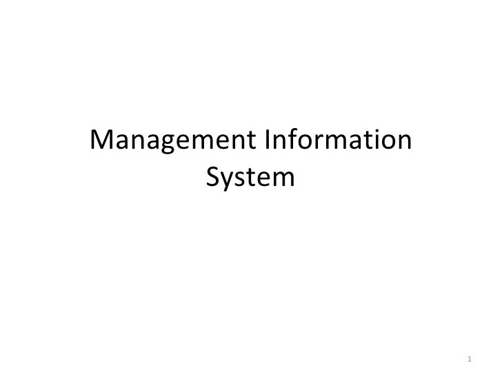 Foundation of information system in business