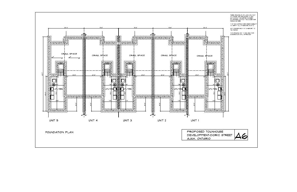 Foundation plan a6 june 2 10
