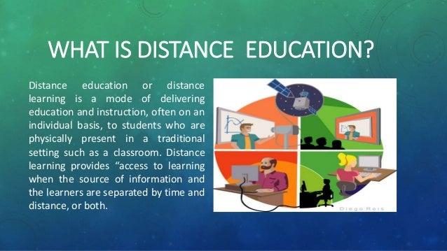 on line distance mode of learning Curriculum and instruction course to facilitate student achievement of learning outcomes modes of teaching elementary statistics online in the distance.