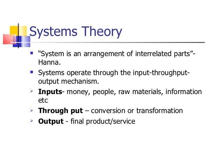 reflection on systems theory intervention 47 success of intervention   critical for a successful generalist intervention   systems theory, and i include a discussion of the school of thought and how it.