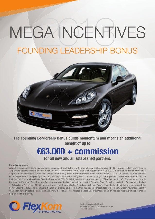 FlexKom Slovenia - leadership bonus