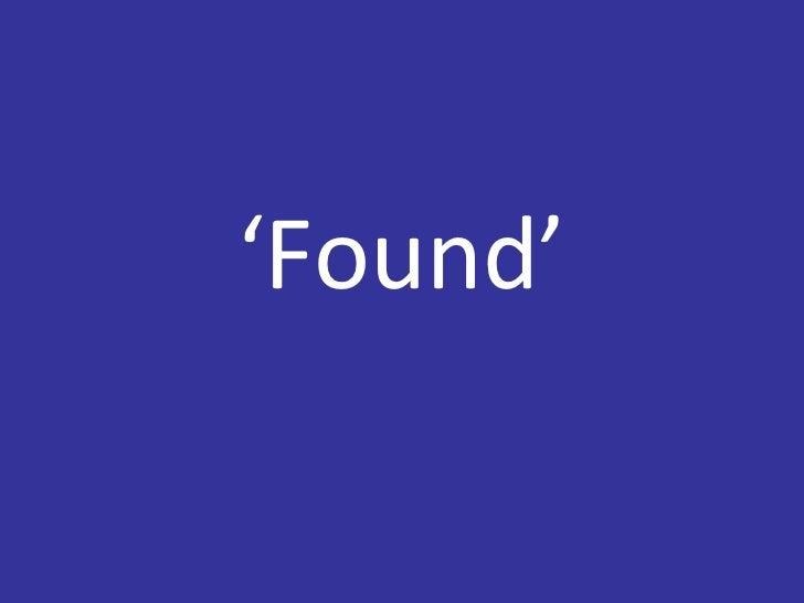 ' Found'