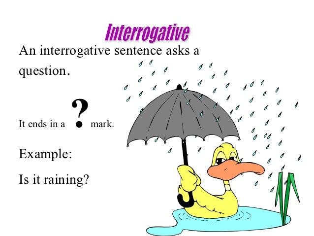 Four types-of-sentences