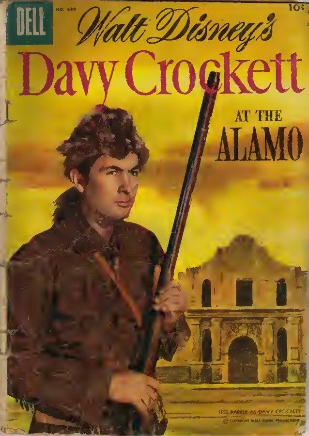 Davy Crockett At The Alamo - Free Comic