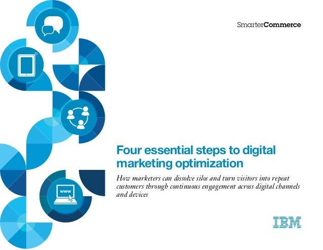 Four essential steps to digital marketing optimisation