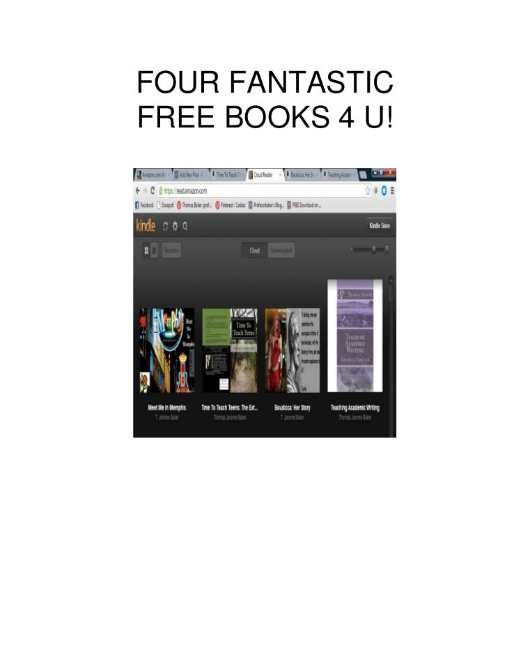 FOUR FANTASTICFREE BOOKS 4 U!