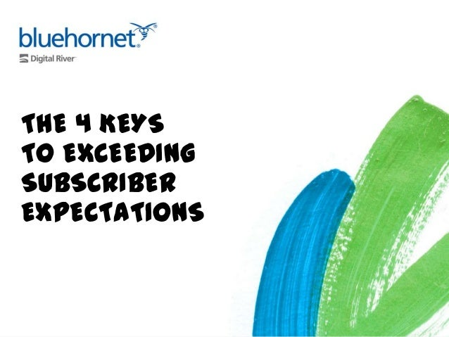 Four Keys to Exceeding Email Subscriber Expectations