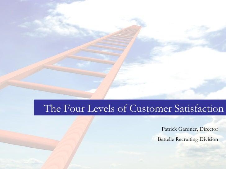level of customer satisfaction in school Customer satisfaction towards service quality of bangkok: graduate school  factor in determining customer satisfaction when deciding to return.