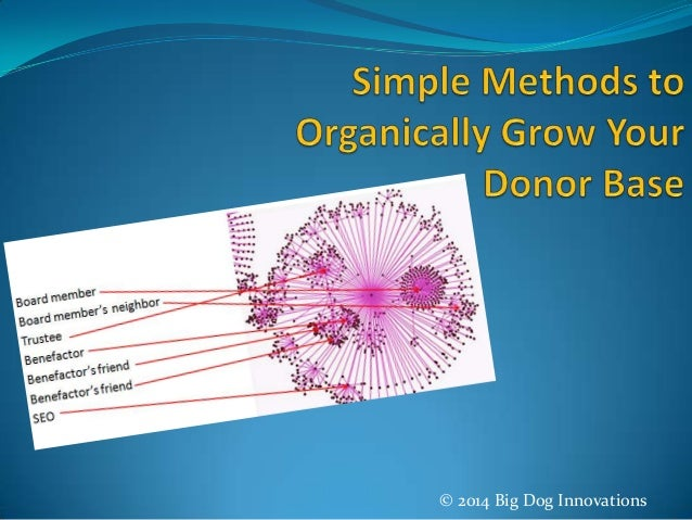 Simple Methods to Organically Grow Your Donor Base