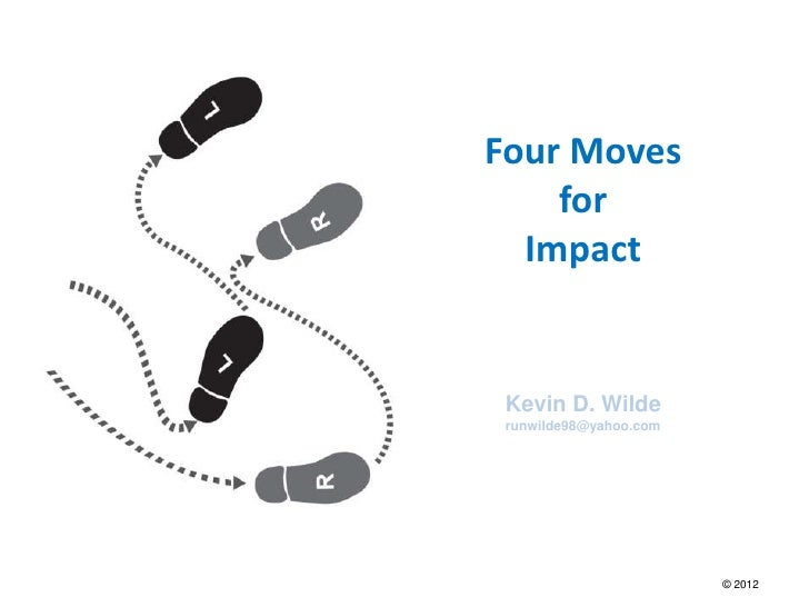 Four moves for impact