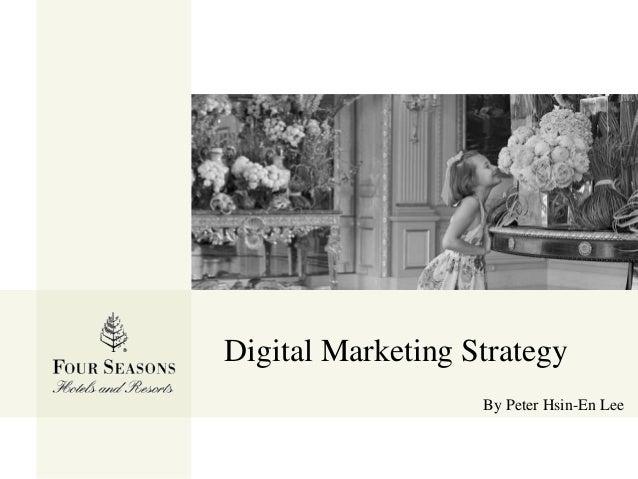 Digital Marketing Strategy By Peter Hsin-En Lee