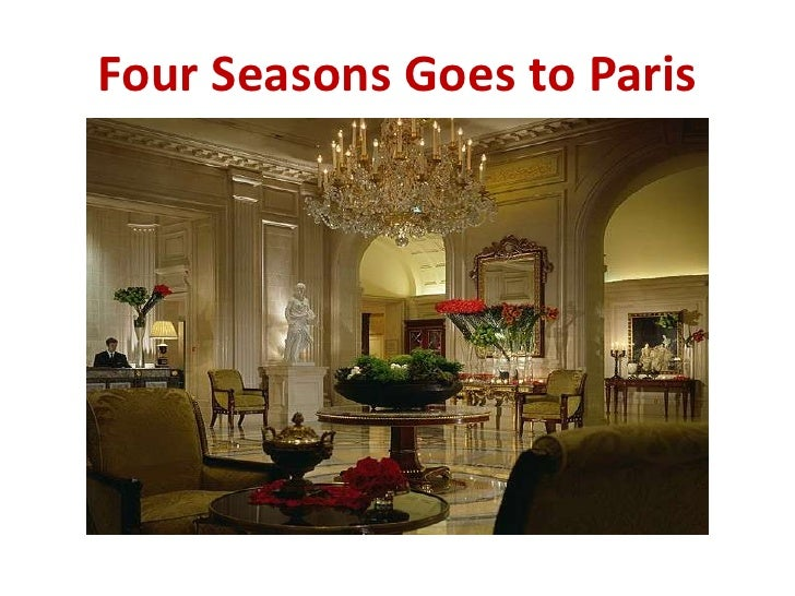 marketing case study four seasons Access to case studies expires six months after purchase date publication date: june 29, 2000 four seasons has a love/hate relationship with technology, including the best web site in the industry.
