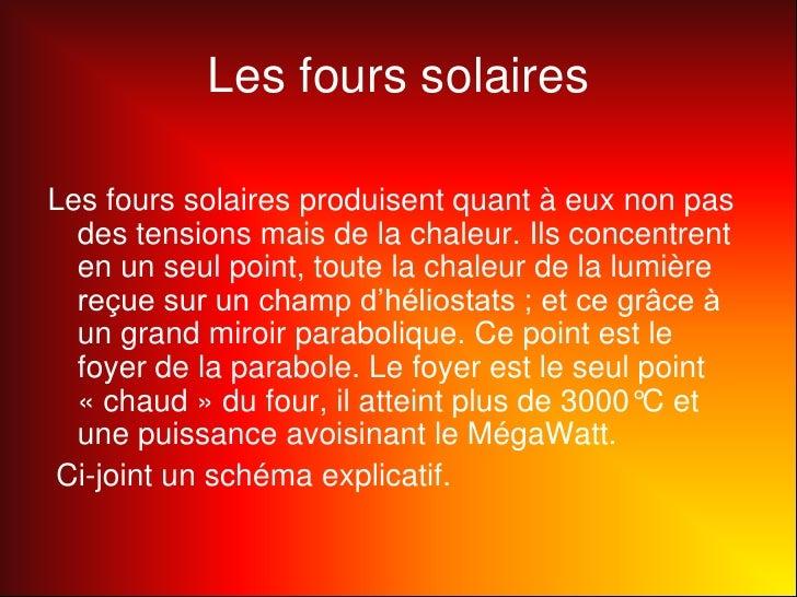 Four solaire for Miroir solaire parabolique