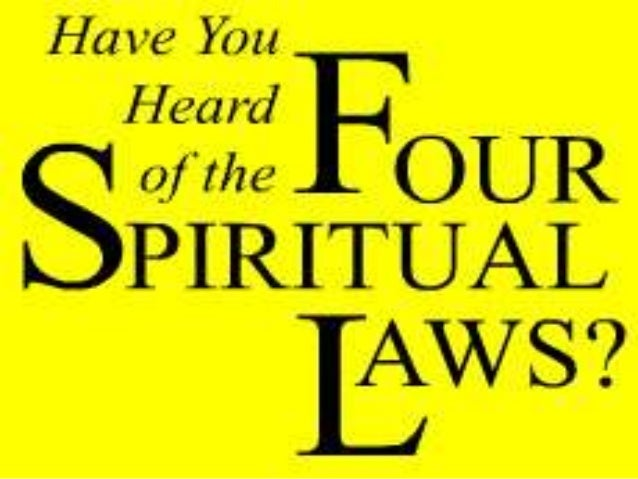 Just as there are physical laws that govern the physical universe, sothere are spiritual laws that govern your relationshi...