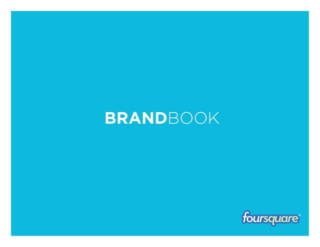 Foursquare brandbook