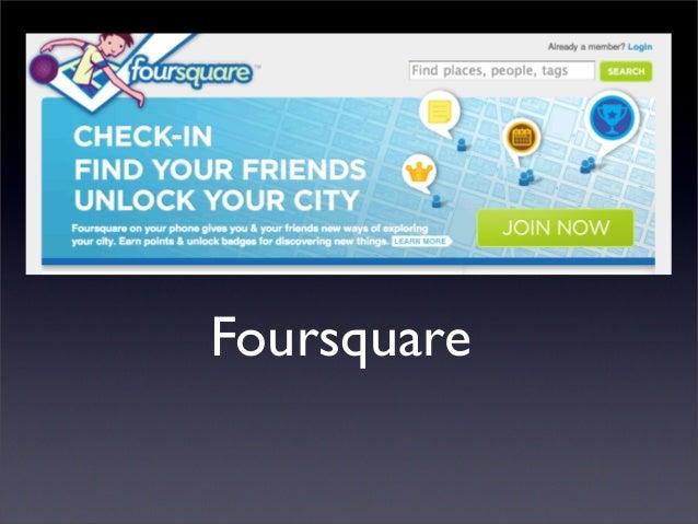 Le basi di Foursquare