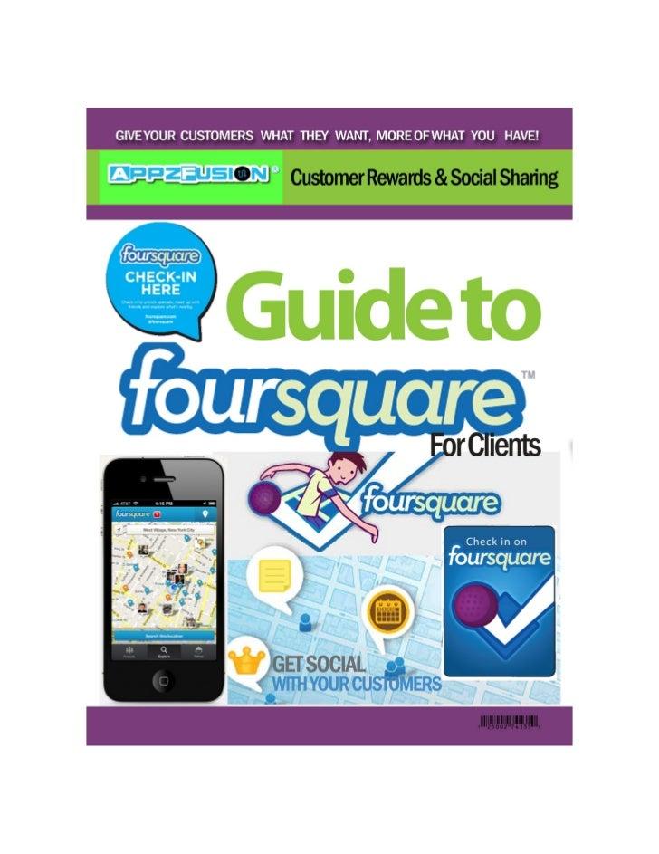 Foursquare marketing for mobile