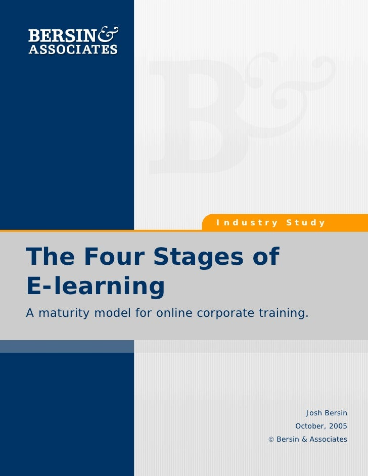 Four Stages Of E Learning