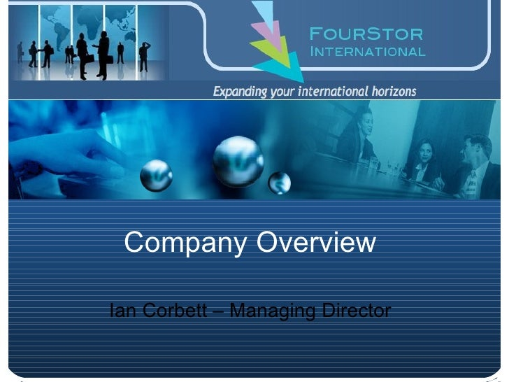 FourStor International Company Overview