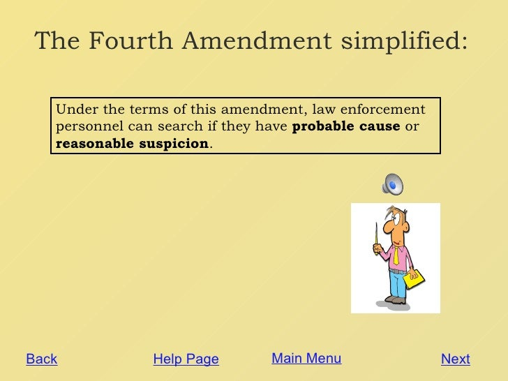 essay about the 4th amendment