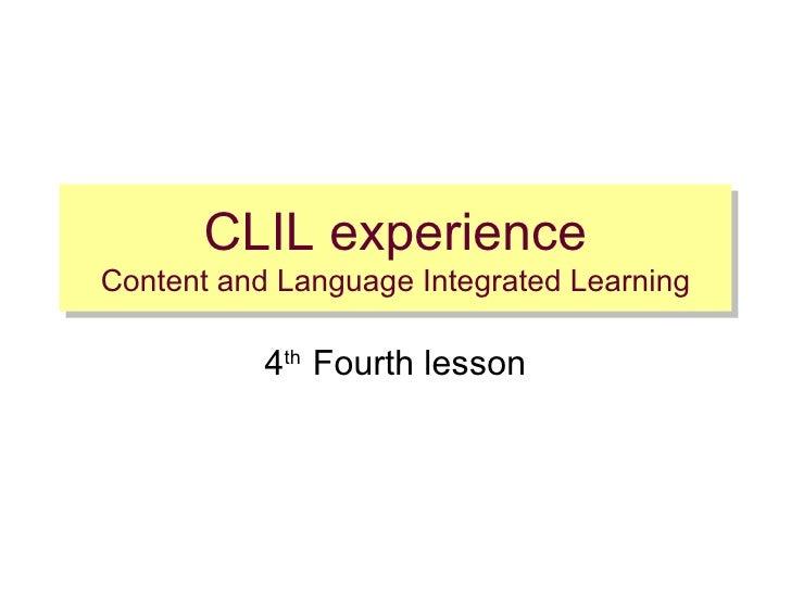 Fourth Lesson Im