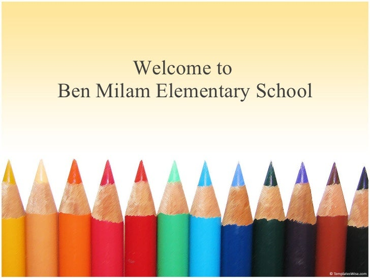Welcome to  Ben Milam Elementary School