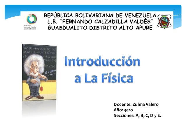 """Docente: Zulma Valero Año: 3ero Secciones: A, B, C, D y E. REPÚBLICA BOLIVARIANA DE VENEZUELA L.B. """"FERNANDO CALZADILLA VA..."""