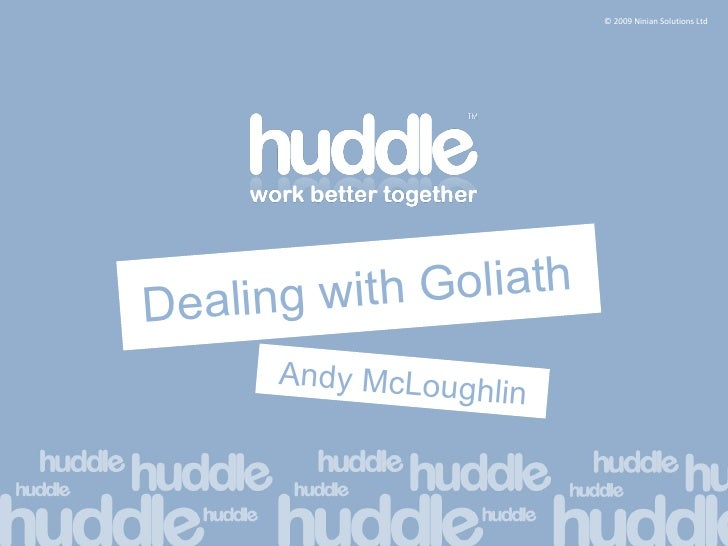 Dealing with Goliath Andy McLoughlin
