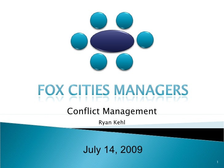 Fox Cities Managers   July 2009