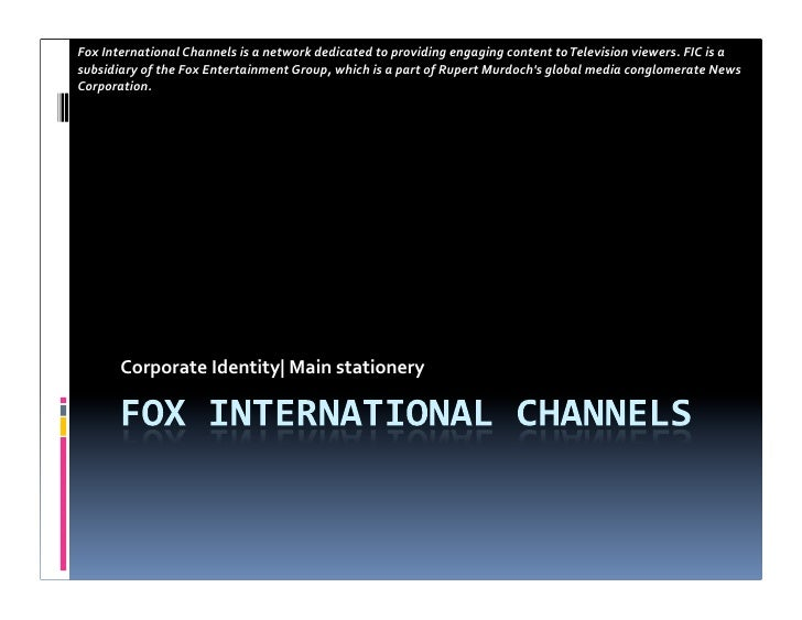 Fox  International  Channels  is  a  network  dedicated  to  providing  engaging  content  to  Tel...