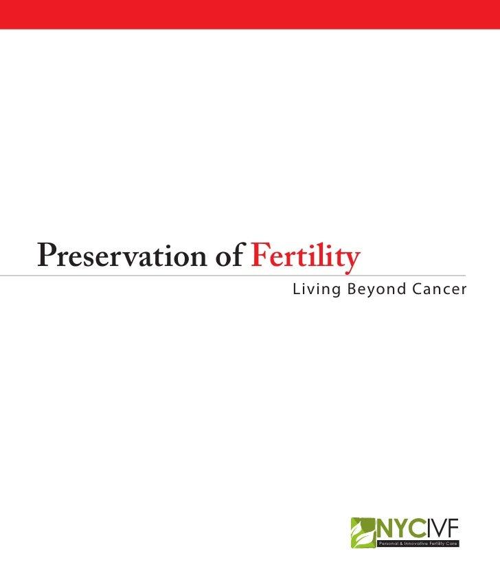 Fertility Preservation; an e-Guide