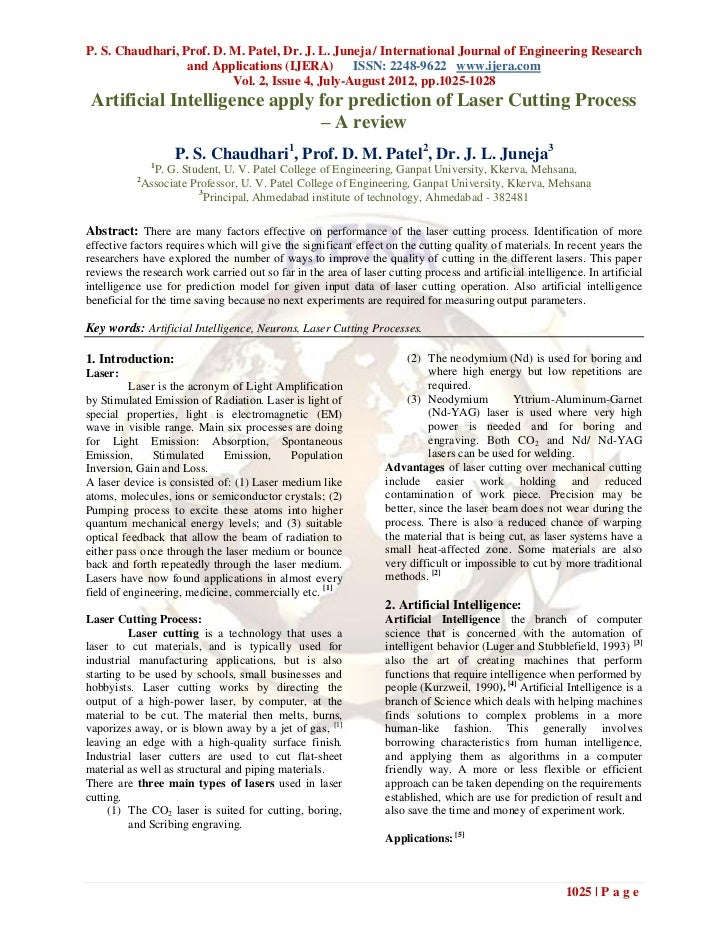 P. S. Chaudhari, Prof. D. M. Patel, Dr. J. L. Juneja / International Journal of Engineering Research                  and ...