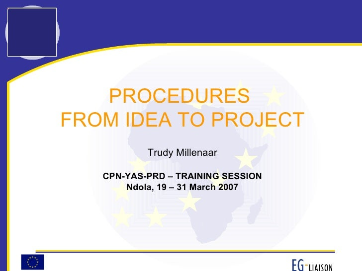 FP7 From Idea To Project (March 2007)