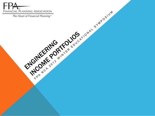 FPA NCA 2012 winter educational symposium   asset dedication slides