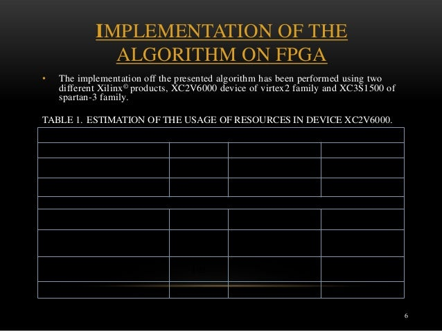 Fpga implementation phd thesis