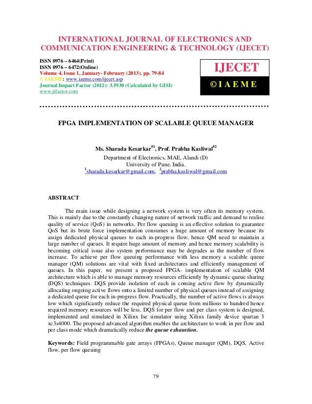 International Journal of Electronics and Communication Engineering & Technology (IJECET), ISSN   INTERNATIONAL JOURNAL OF ...