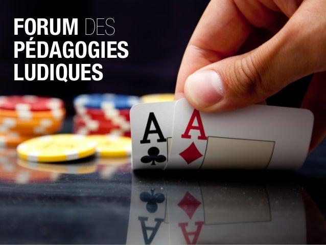 Forum des Pédagogies Ludiques