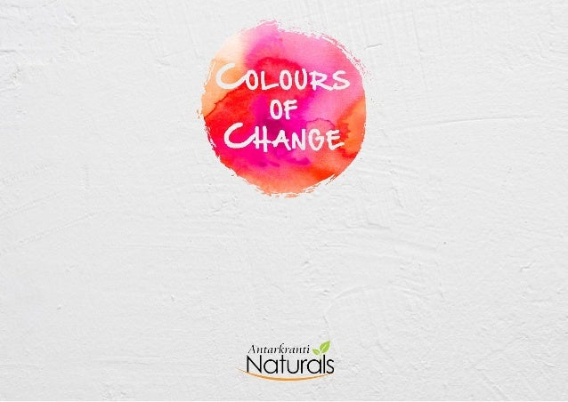 These colours are no ordinary colours, they carrywith them the values of change, reformation and life          changing ex...