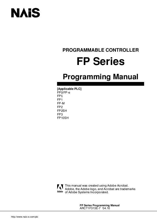 Fp programming manual