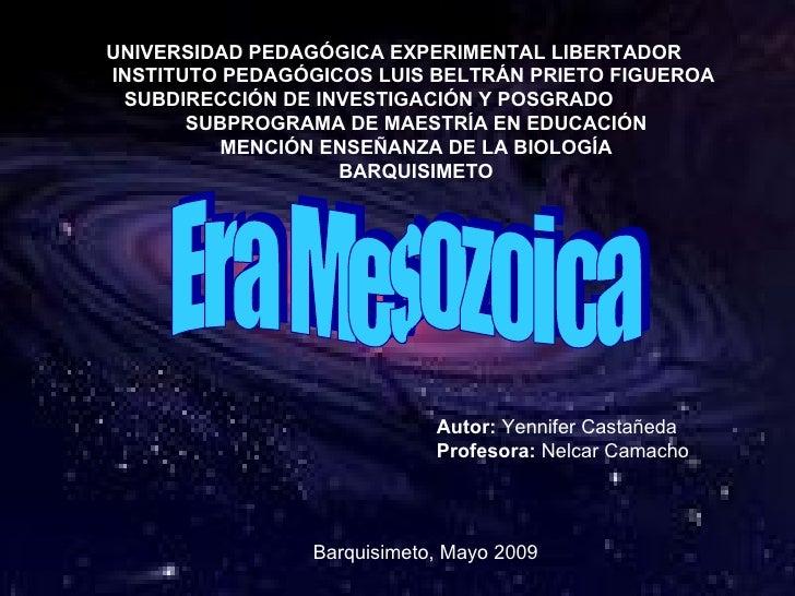 UNIVERSIDAD PEDAGÓGICA EXPERIMENTAL LIBERTADOR INSTITUTO PEDAGÓGICOS LUIS BELTRÁN PRIETO FIGUEROA  SUBDIRECCIÓN DE INVESTI...