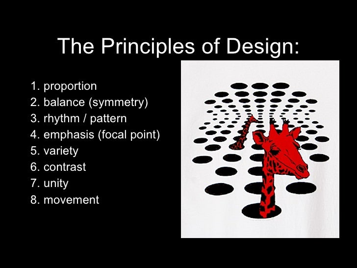 Elements And Principles Of Design Contrast : Principles and elements of design