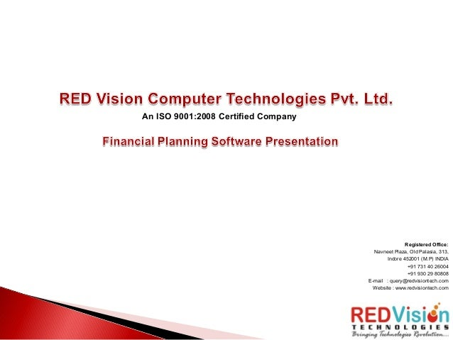 RED Vision Financial Planning Software