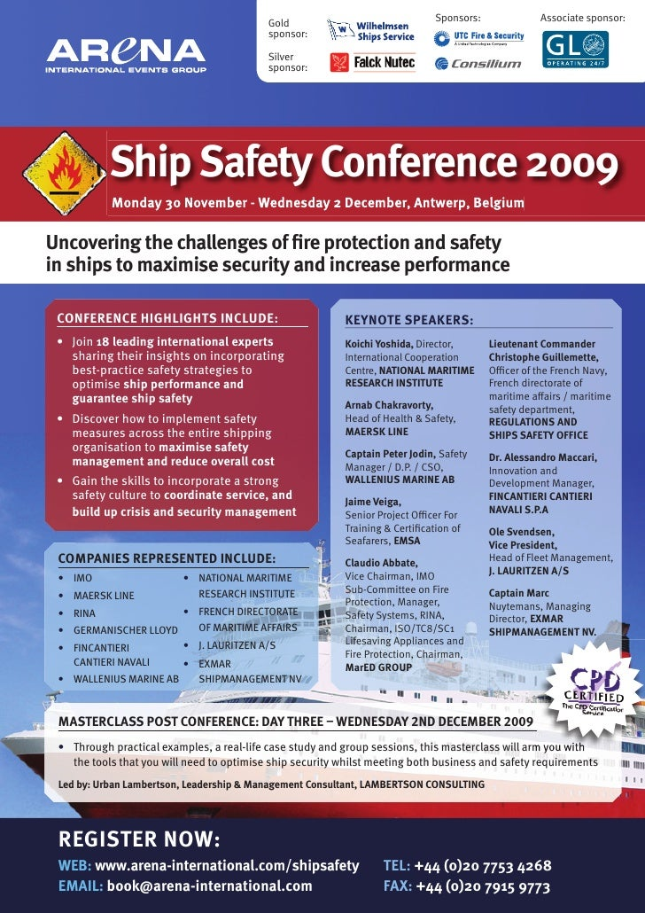 Ship Safety Conference