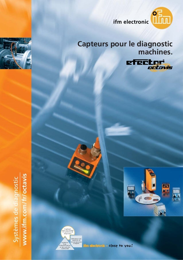 Brochure capteurs pour le diagnostic vibratoire Octavis (2008)
