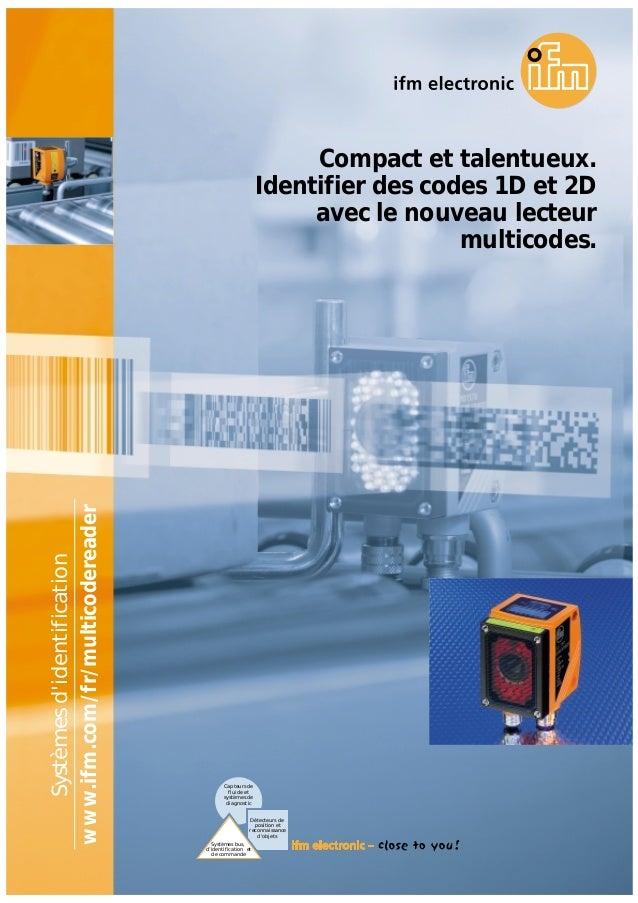 Systèmes bus, d'identification et de commande Capteurs de fluide et systèmes de diagnostic Détecteurs de position et recon...