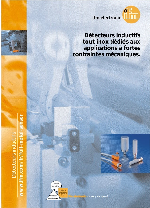 Capteurs de fluide et systèmes de diagnostic Systèmes bus, d'identification et de contrôle-commande Détecteurs de position...