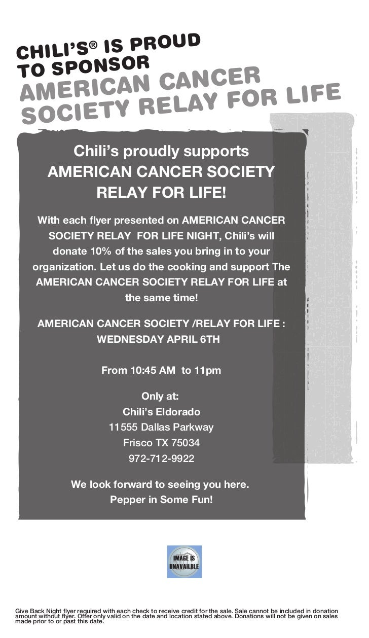 Fundraiser - Chili's