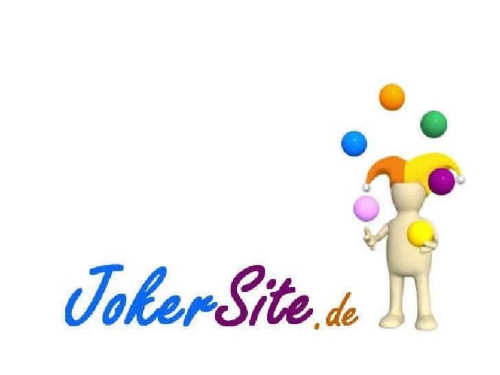 JokerSite.de - Präsentation #1